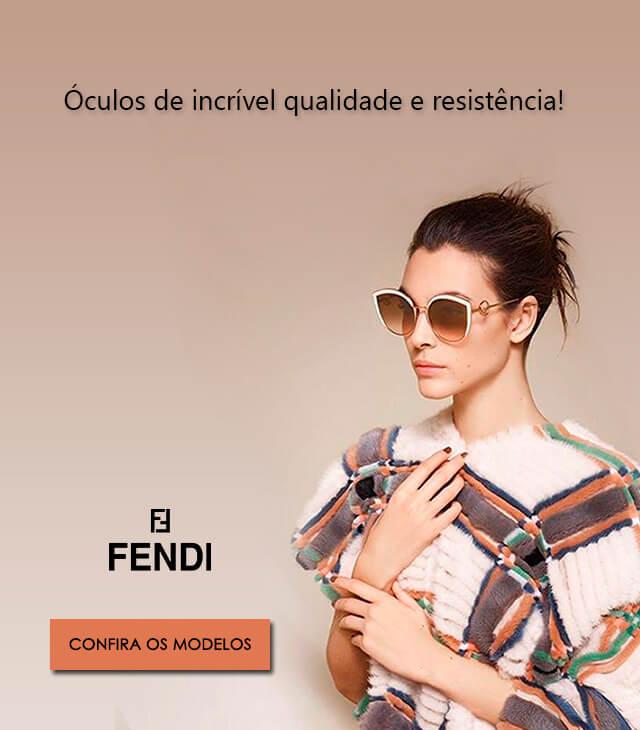 Banner óculos Fendi